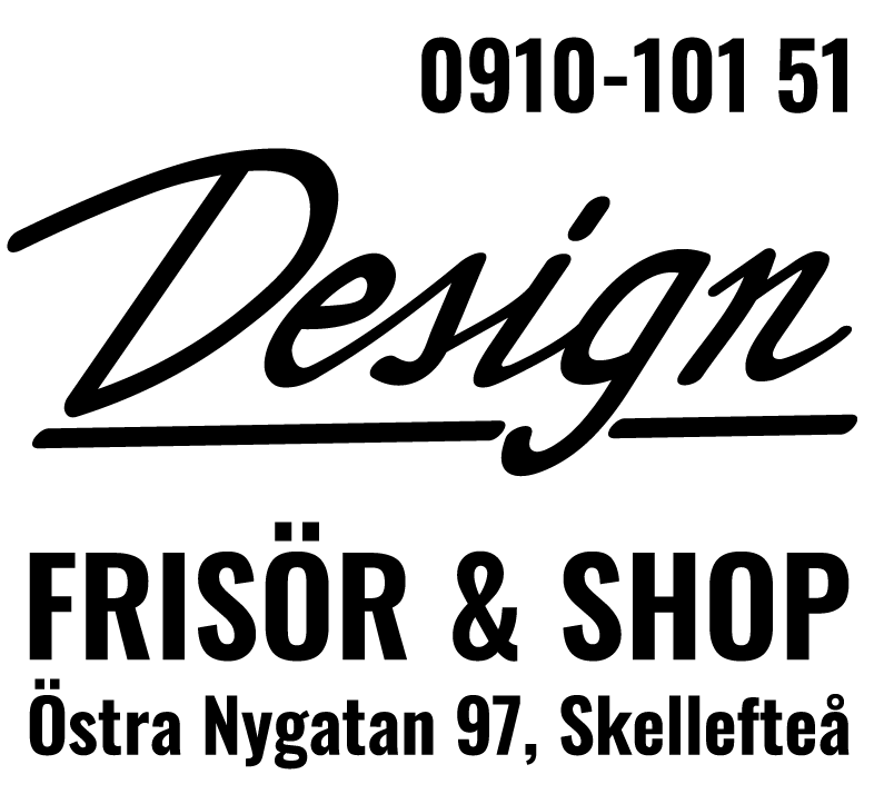 Logotype Design Frisör & Shop